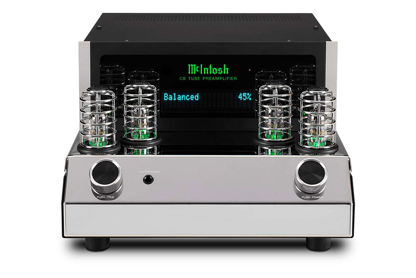 McIntosh C8 2 Channel Vacuum Tube Preamplifier 06