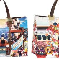 Bunt - bunter - Taschenkreationen von Mary Katrantzou für Longchamp
