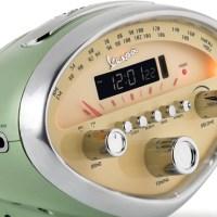 Der etwas andere Radiowecker im Vespa-Design