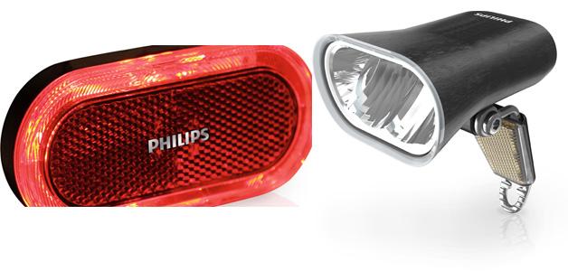 Philips SafeRider LED Fahrradleuchten