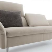 Eleganter, bequemer Blickfang - Koinor Couch oder Einzelsessel Vittoria