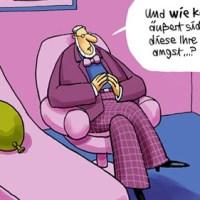 Claustrophobia - Cartoons zur Enge in der engsten Galerie der Welt