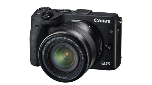 Canon EOS M3, spiegellose Systemkamera, DSLR-Kamera, APS-C CMOS-Sensor, DIGIC 6 Bildprozessor, Hybrid CMOS AF III, 49-Punkt-AF-System,