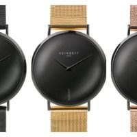 """Uhren """"Black & Rosé"""" und """"Black & Gold"""" - Limited Edition von Keinzeit"""