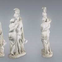 Leopold Kiesling. Der Mythos von Mars und Venus mit Amor im Oberen Belvedere