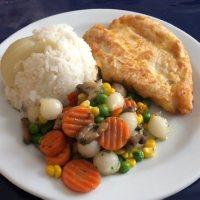 Hühnerbrust im Käsemantel