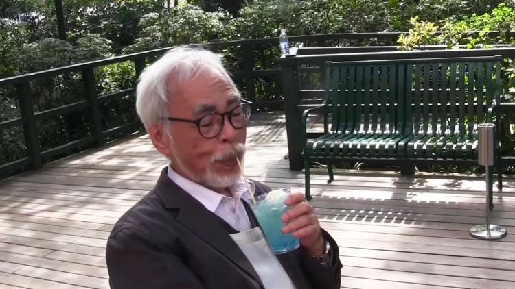 Hayao Miyazaki fa una rara apparizione video nel nuovo bar del Museo Ghibli