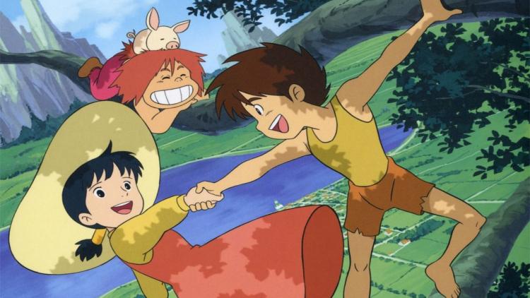 Conan il ragazzo del futuro di Miyazaki in Bluray