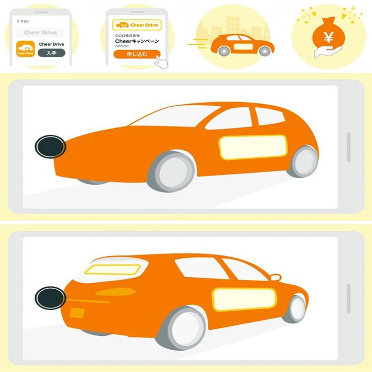 In Giappone ora puoi guadagnare trasformando la tua auto in una itasha