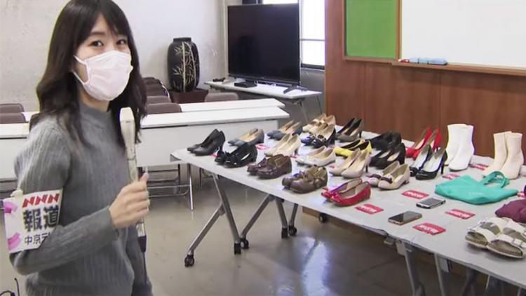 Uomo arrestato in Giappone per aver rubato scarpe da donna e sostituito con altre nuove