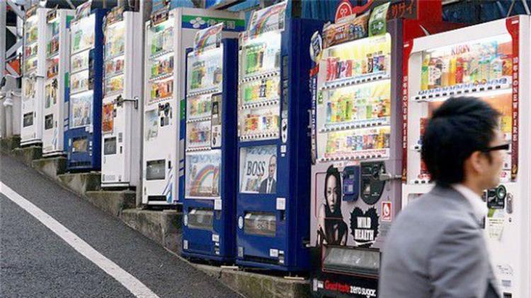Perché il Giappone è pieno di distributori automatici?