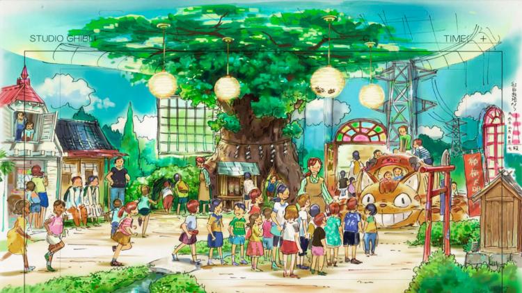 Ancora novità dal Ghibli Park: ludoteca di Totoro