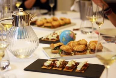 Parte de la comida del chef personal Joan Gurguí