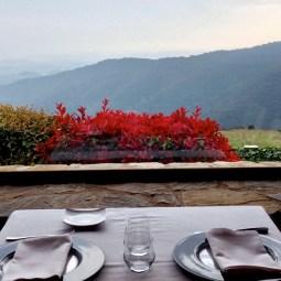 Restaurante con vistas al Montseny