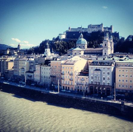 Salzburgo terrasse Stein