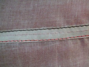 The Fake Felled Seam is identical from front and back.