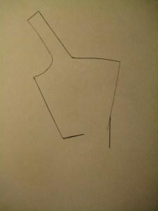 correct angle for line