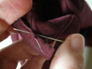 waistband stitching