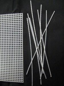 plastic canvas for boning