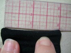 measuring for eyelets