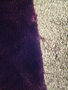 closeup of rayon and silk velvets