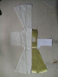 pieces showing sewing plan