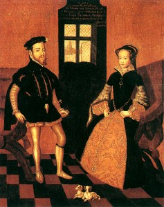 portrait of Mary and Phillip
