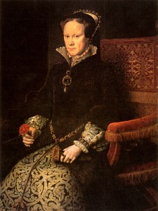 another portrait of Mary Tudor