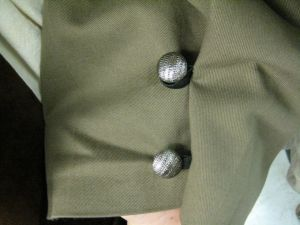 buttoned pants