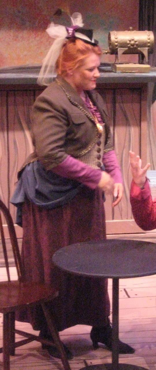 actress wearing costume