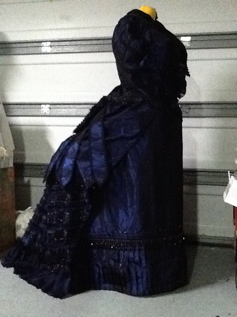 dress over bustle