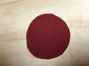 circle of fabric