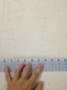 Use a ruler (or straght edge) to straighten the parts that should be straight: the bottoms of all pieces, the shoulders, center front and (for straighter figures) the center back.