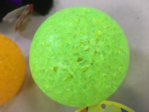 Strange weird plastic ball