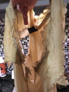 Sad silk blouse