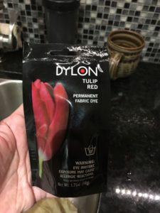 Dylon packet