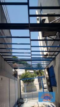 Cobertura de policarbonato retrátil Tijuca