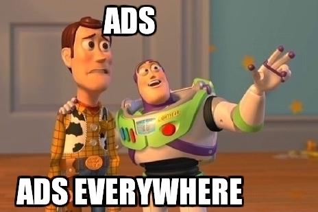 Reklamy Příběh hraček