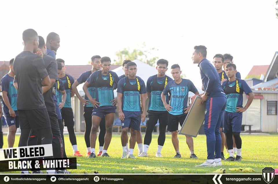 Nafuzi Zain Pemain Terengganu FC 2020 Latihan import