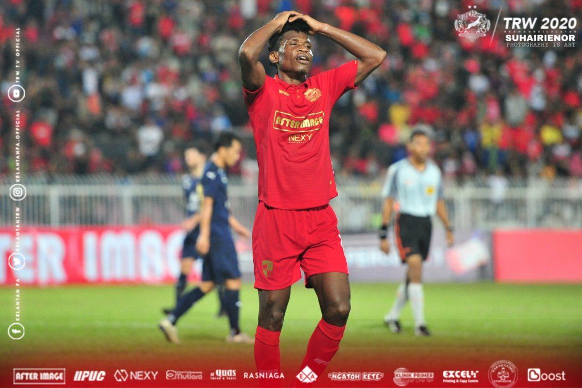 Felix Chidi Odili Kelantan 2020 Liga Premier