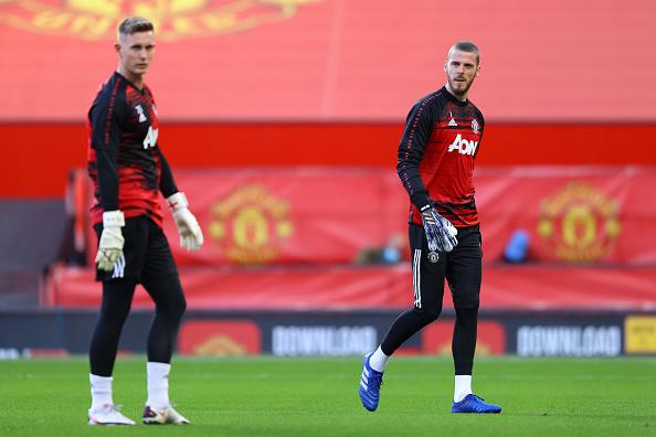 David De Gea Dean Henderson Manchester United