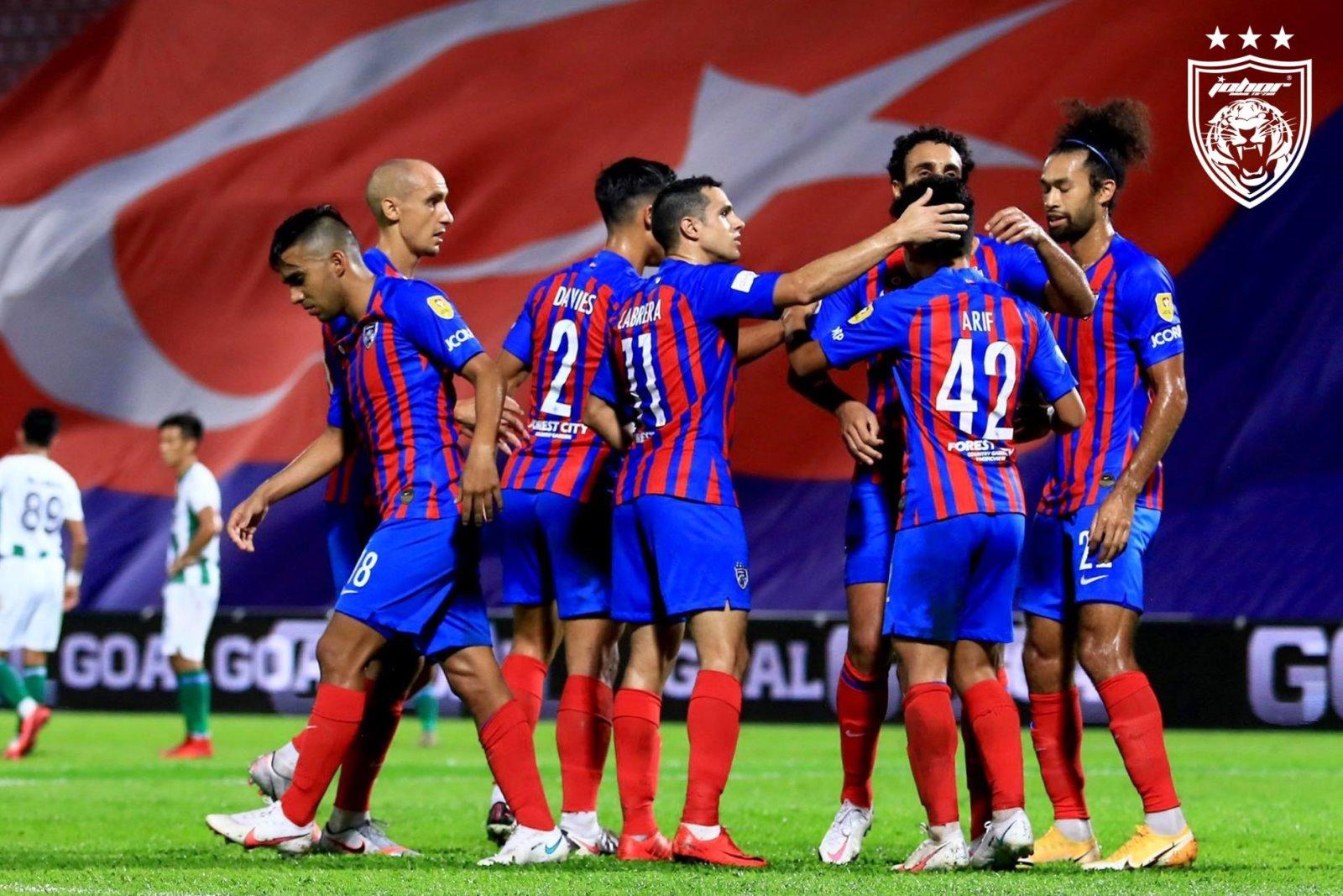 JDT Kuching FA Piala Malaysia 2020 Tiada Tuah