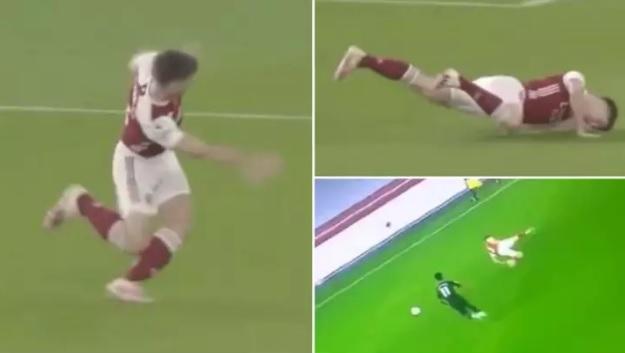 Kieran Tierney Arsenal Aston Villa
