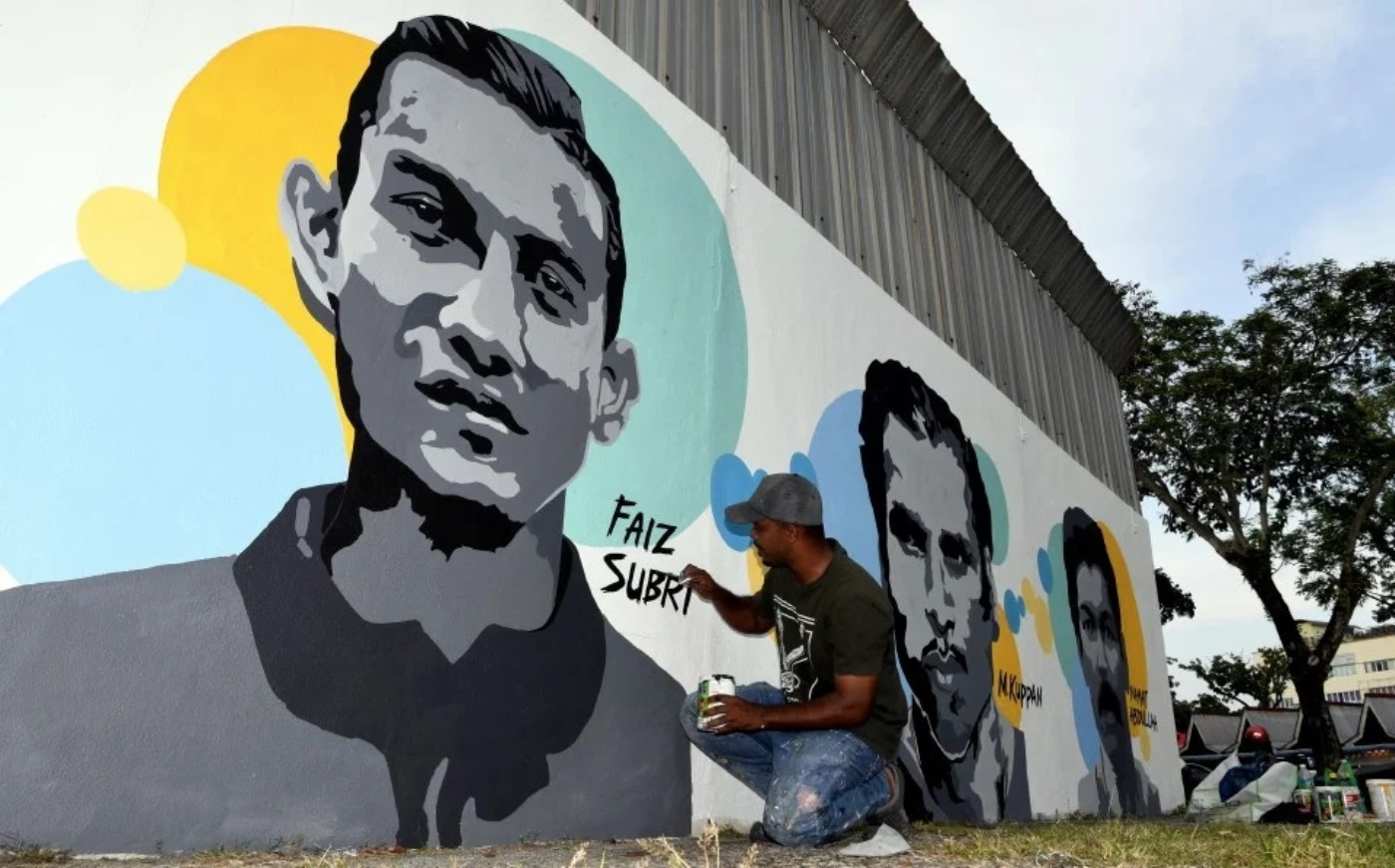 6 lagenda dinding Stadium Bandaraya 2021