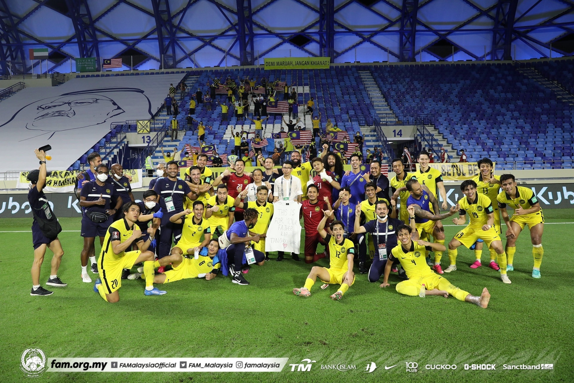 Harimau Malaya Malaysia Piala Dunia 2022