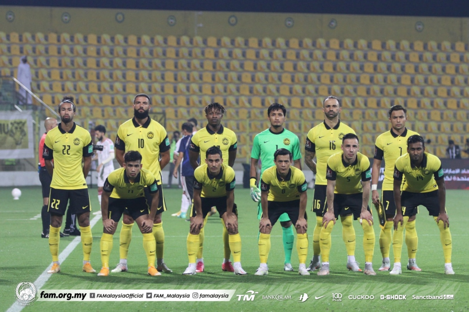 Malaysia UAE 2021 Kesebelasan Utama Harimau Malaya minit permainan
