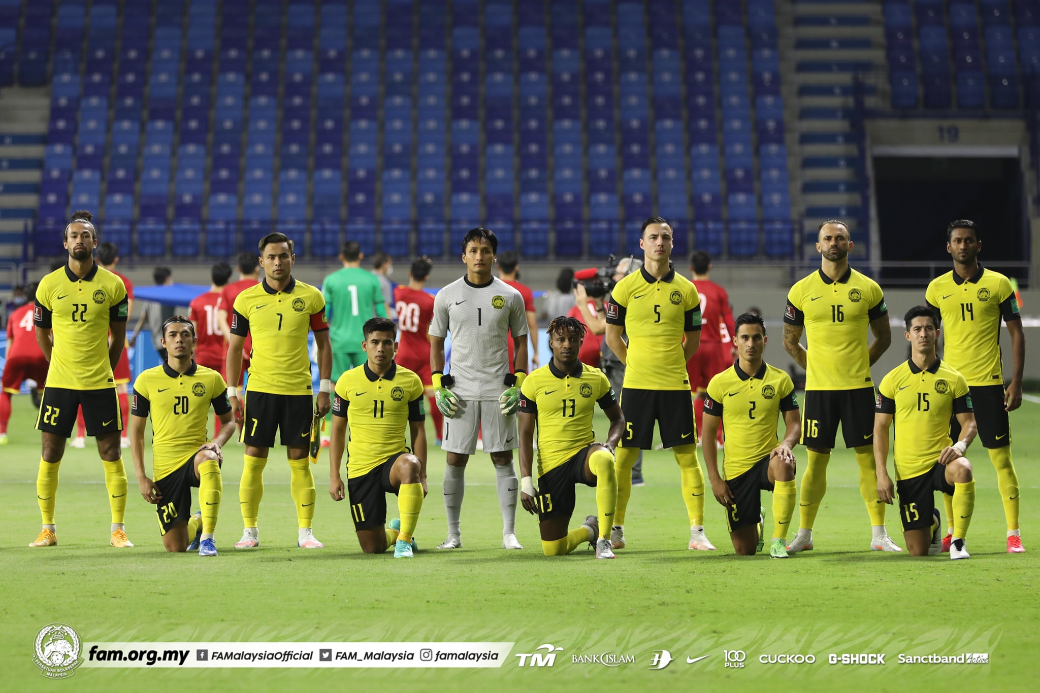 Malaysia Vietnam XI Harimau Malaya Safawi Sumareh