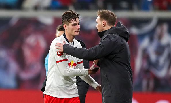 Patrik Schick Julian Nagelsmann Robert Lewandowski Bayern Munich