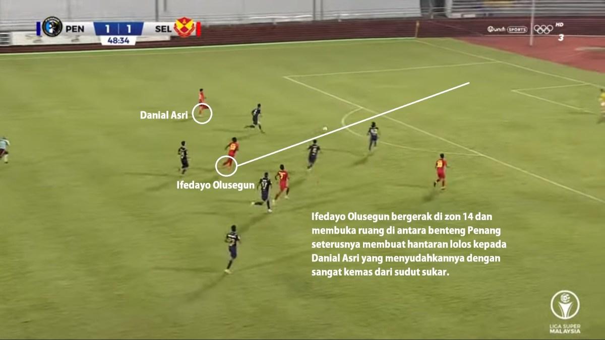 Gol Danial Asri selangor penang