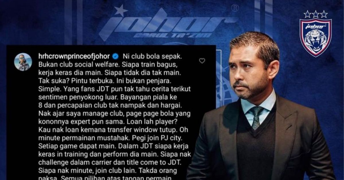 TMJ Syafiq Ahmad isu 2021